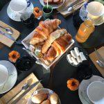 Petit-déjeuner au Domaine Saint-Hilaire à Meung-sur-Loire